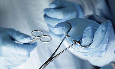 Хирургическая операция. Вскрытие кожного или подкожного панариция