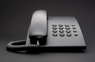 В связи с аварией временно не работает телефонная связь.
